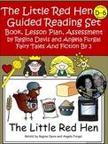A+ Little Red Hen D-6 Guided Reading-Book, Lesson Plan,Ass