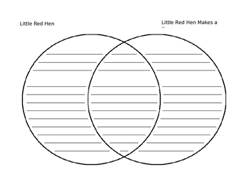 Little Red Hen Venn Diagram