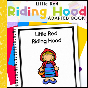 Little Red Riding Hood: Adapted Book for Early Childhood S
