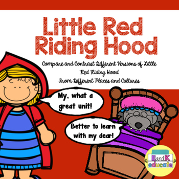 Little Red Riding Hood Compare and Contrast