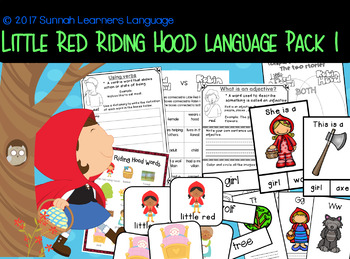 Little Red Riding Hood Language Pack 1