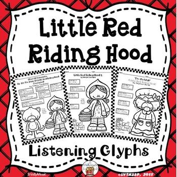 Little Red Riding Hood Listening Glyphs (Opera, Classical