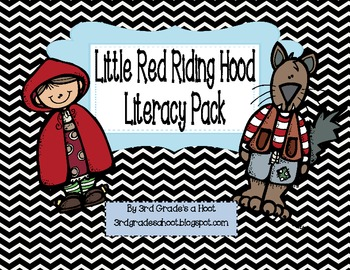 Little Red Riding Hood Literacy Pack