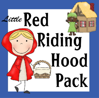 Little Red Riding Hood Pack for Preschool, Kindergarten, 1