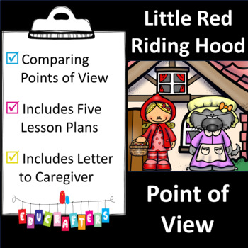 Little Red Riding Hood [Point of View] Reading Unit of Study
