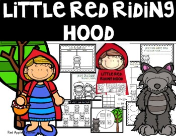 Little Red Riding Hood---Reading Response Journal and Math