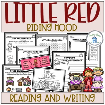 Little Red Riding Hood - Reading and Writing Tasks