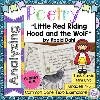 """""""Little Red Riding Hood and the Wolf"""" by Roald Dahl Poetry"""