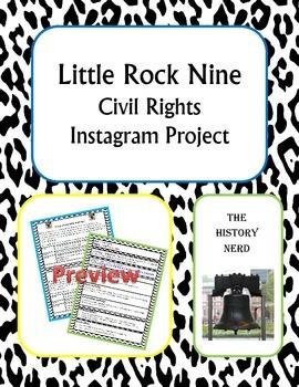 Little Rock Nine Instagram Project