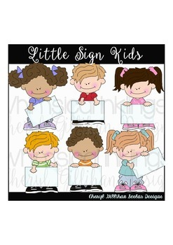 Little Sign Kids Clipart Collection