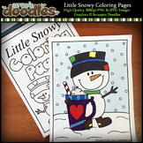 Little Snowy Coloring Pages