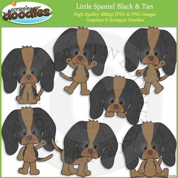 Little Spaniel Black & Tan