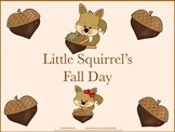 Little Squirrel's Fall Day Poem Book