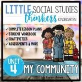 Little Thinkers Unit 4: My Community