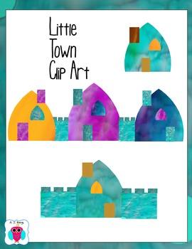 Little Town Clip Art