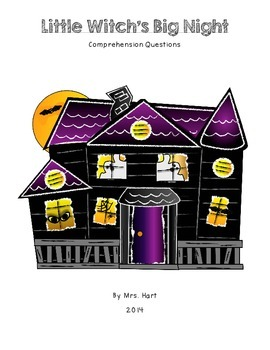 Little Witch's Big Night Book Activities