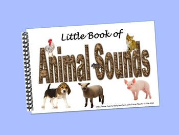 Animal Sounds LITTLE INTERACTIVE BOOK