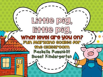 Little pig, little pig, what level are you on? {Fun classr