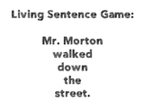 *Editable* Living Sentence Template