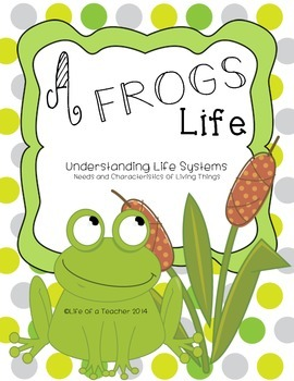 Living Things: Frogs