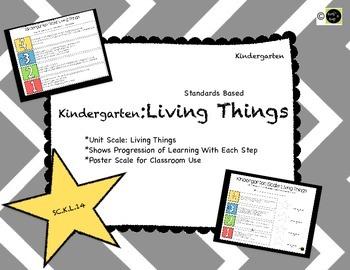 Living Things: Kindergarten Learning Scale