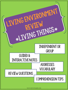 LIVING ENVIRONMENT Regents Prep - Part 1