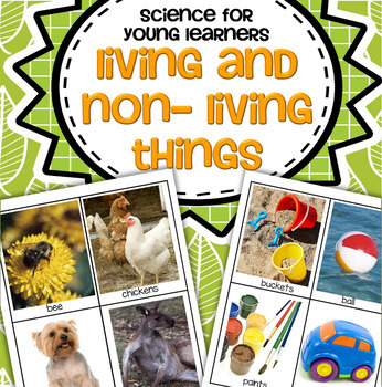 Living and Non-Living Things for Preschool, Pre-K and Kind