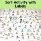 Living and Non Living Things Sort Activity. Centers and La