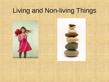 Living and Non-living Powerpoint