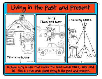 Living in the Past and Present Reader/Then and Now
