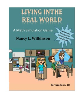 Living in the Real World - A Math Simulation Game