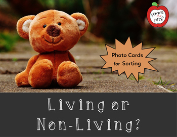 Living or Non-Living Sorting Activity (Grade 1 Ontario Science)