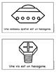Livres sur les Formes Géométriques - 2D  - l'hexagone