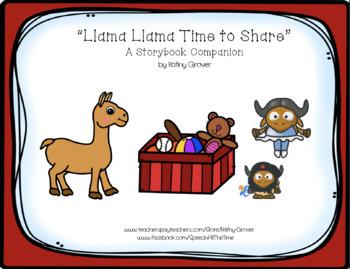 Llama Llama Time to Share A Storybook Companion