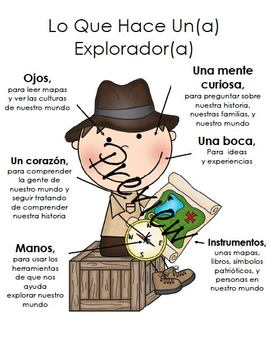 Lo Que Hace Un(a) Explorador/ What a explorer does in-SP
