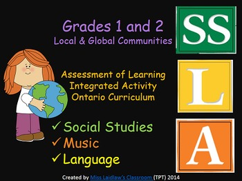Local & Global Communities Integrated Activity Ontario Gr.