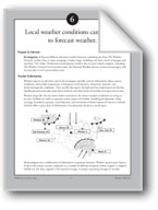 Local Weather Conditions Can Be Used to Forecast Weather