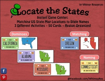 Locate the State - Find State on US Map
