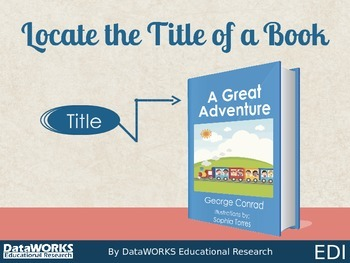 Locate the Title of a Book