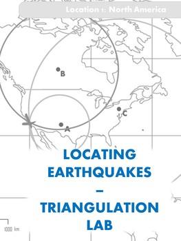Locating Earthquake Epicenter Lab - Triangulation