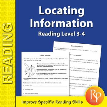 Locating Information: Specific Reading Skills Activities