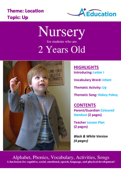 Location - Up : Letter I : Infant - Nursery (2 years old)