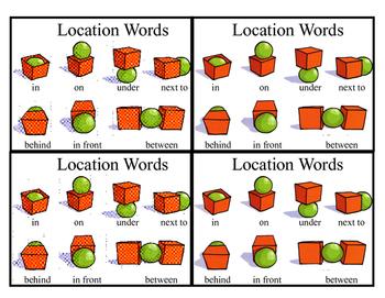 Location Word Visual Aid