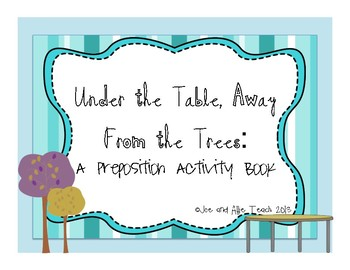 Location Words/ Prepositions/ Speech and Language/ Activit