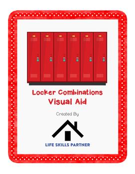 Locker Combination Visual Aid