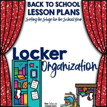 Setting the Stage: Locker Organization Lesson Plan - Back