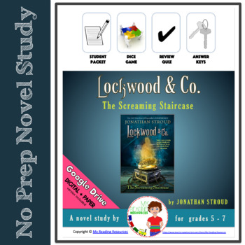 Lockwood and Co. The Screaming Staircase by Jonathan Stroud