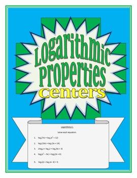 Logarithmic Properties Centers