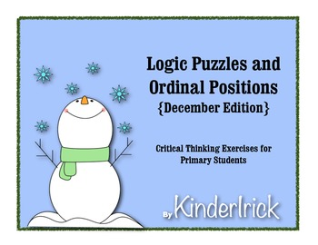 Logic Problems- December Edition