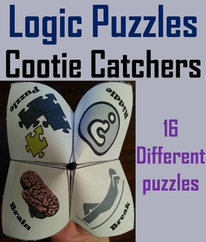 Brain Breaks: Logic Puzzles and Teasers Activity (Scoot Game)